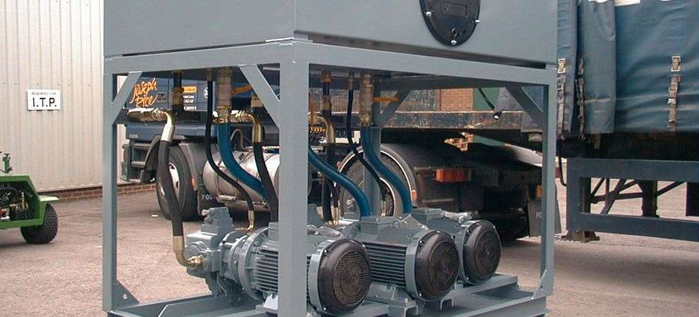 Picture of Steel Casting Line